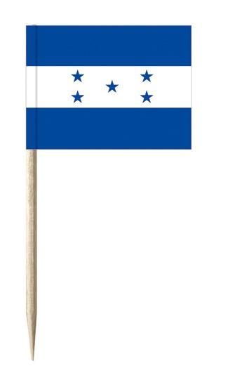 Minifahnen Dekopicker / Käsepicker Honduras