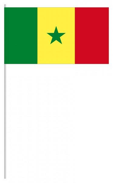 Papierfahnen Senegal
