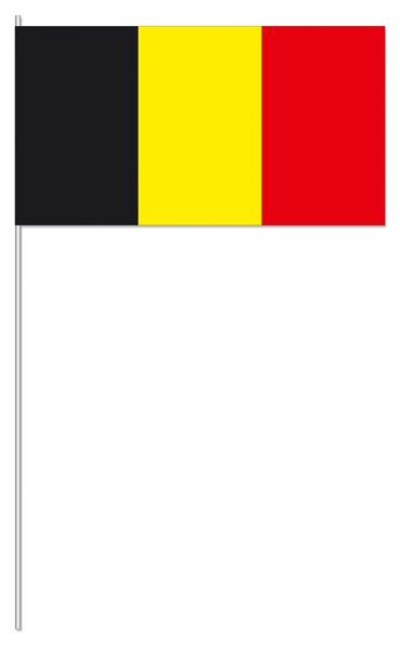 Papierfähnchen Belgien
