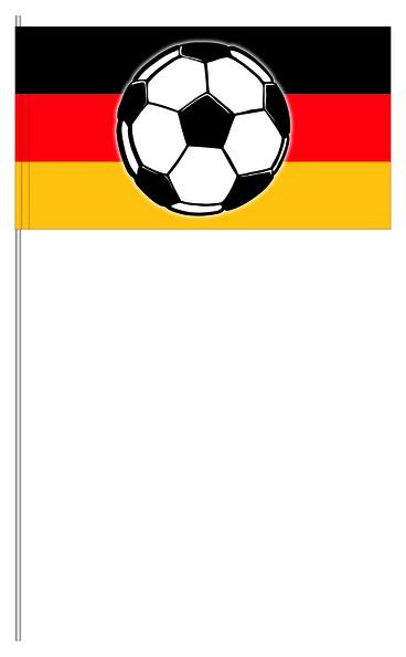 Papierfahnen Deutschland Fußball