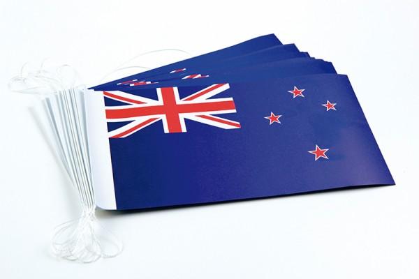 Fahnenketten Neuseeland