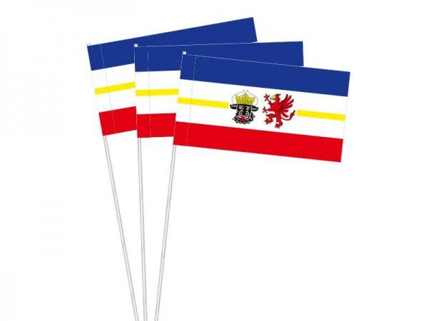 Papierfahnen Mecklenburg-Vorpommern