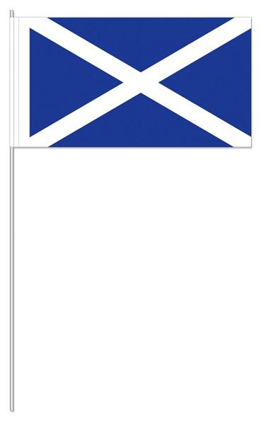 Papierfähnchen Schottland