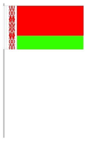 Papierfähnchen Weißrussland