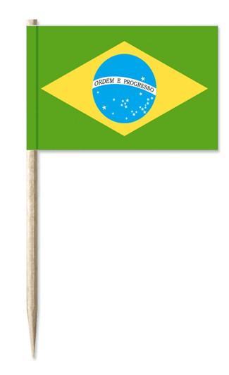 Minifahne Brasilien