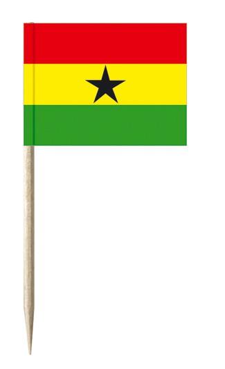 Minifahnen Dekopicker / Käsepicker Ghana
