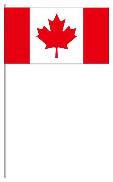 Papierfähnchen Kanada