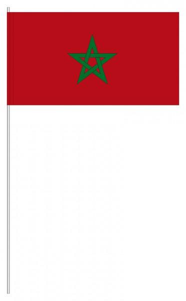 Papierfahnen Marokko