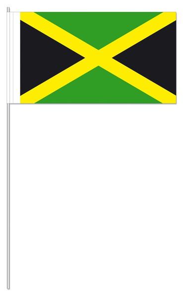 Papierfähnchen Jamaika