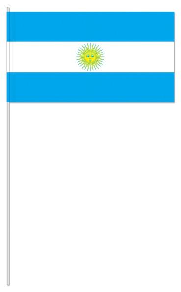 Papierfähnchen Argentinien