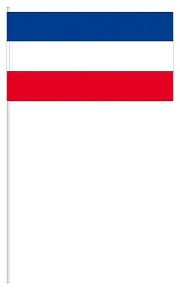 Papierfahne blau/weiß/rot