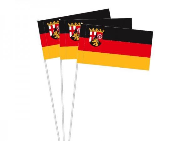 Papierfahnen Rheinland-Pfalz