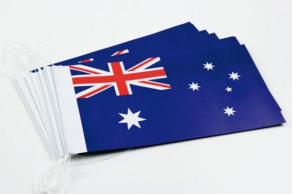 Fahnenketten Australien