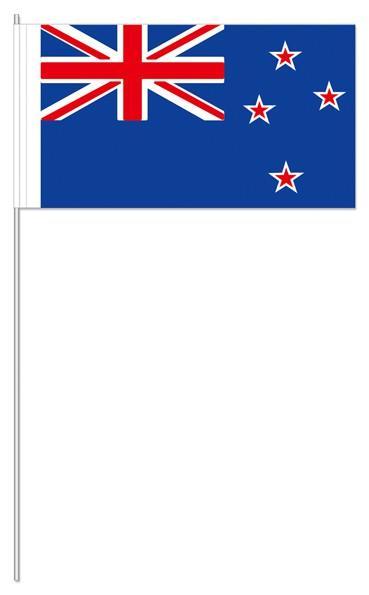 Papierfähnchen Neuseeland