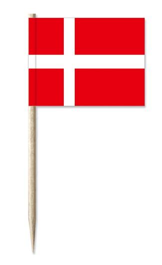 Minifahne Dänemark