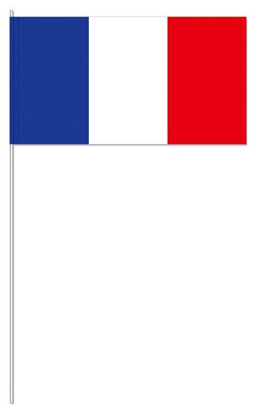Papierfahnen Frankreich