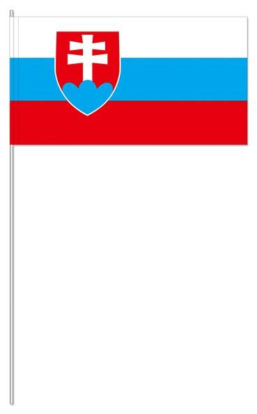 Papierfähnchen Slowakei
