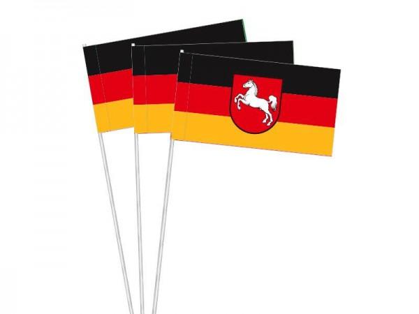 Papierfahnen Niedersachsen