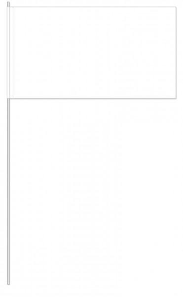 Papierfahnen weiß