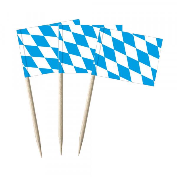 Minifahnen Dekopicker / Käsepicker Bayern