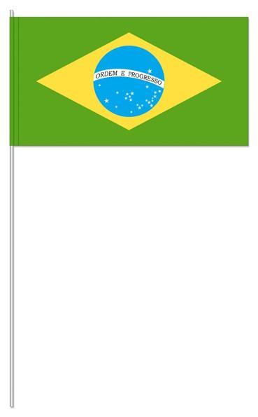 Papierfähnchen Brasilien