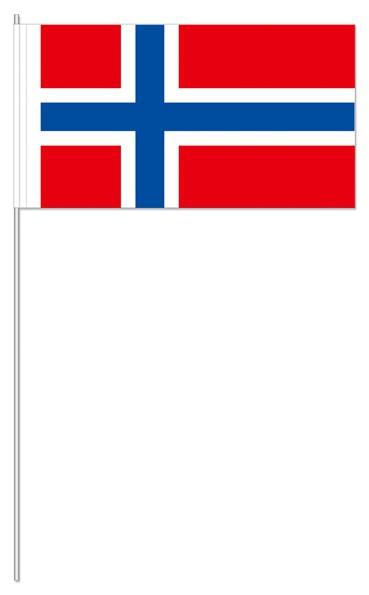 Papierfähnchen Norwegen