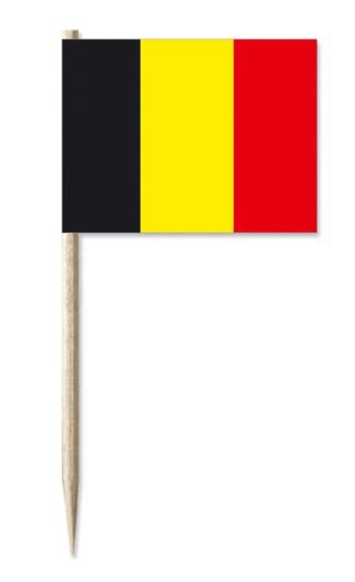 Minifahne Belgien