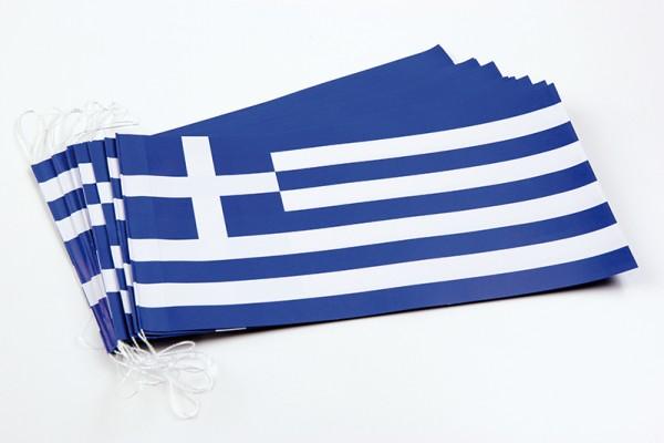Fahnenketten Griechenland