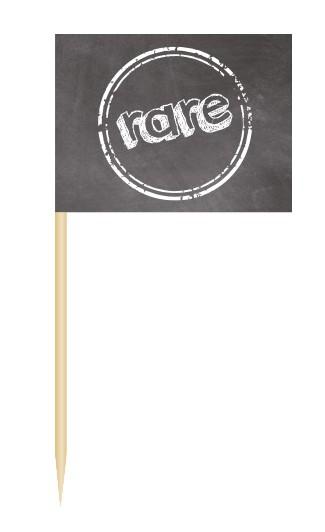 Minifahnen Dekopicker / BBQ Flags rare