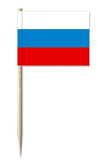 Minifahne Russland