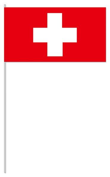 Papierfähnchen Schweiz