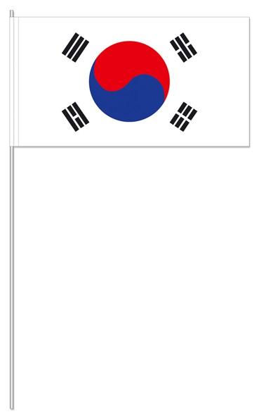 Papierfähnchen Südkorea