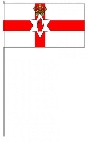 Papierfahnen Nordirland