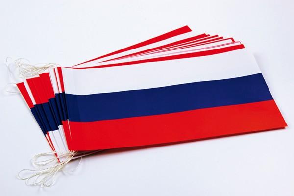 Fahnenketten Russland