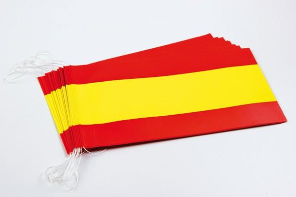 Fahnenketten Spanien