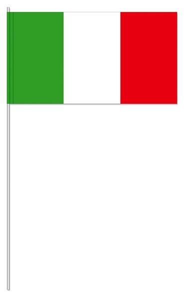 Papierfahnen Italien