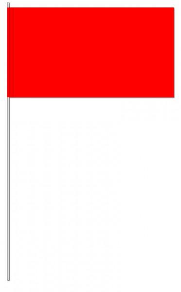 Papierfahnen rot