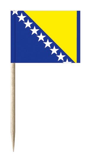 Minifahnen Dekopicker / Käsepicker Bosnien-Herzegowina