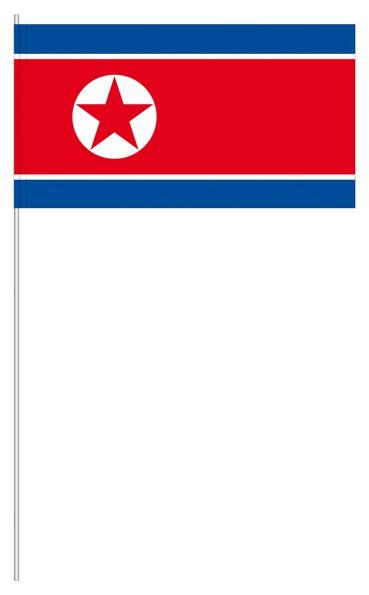 Papierfähnchen Nordkorea