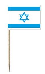Minifahnen Dekopicker / Käsepicker Israel