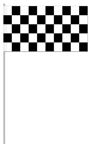 Papierfahnen Zielflagge