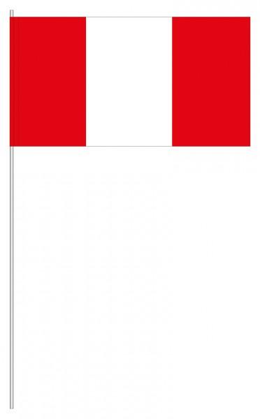 Papierfahnen Peru