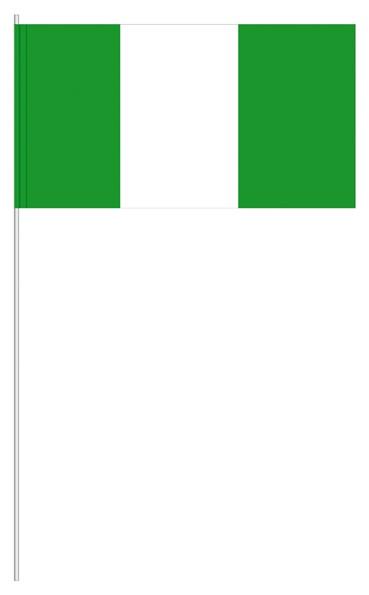 Papierfähnchen Nigeria
