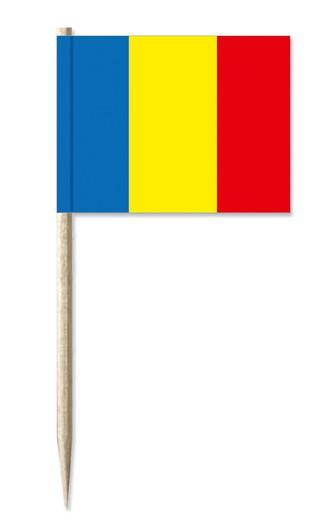 Minifahnen Dekopicker / Käsepicker Rumänien