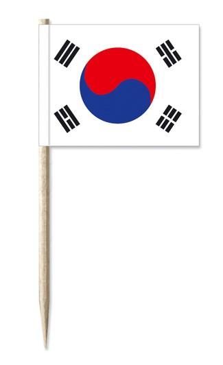 Minifahne Südkorea