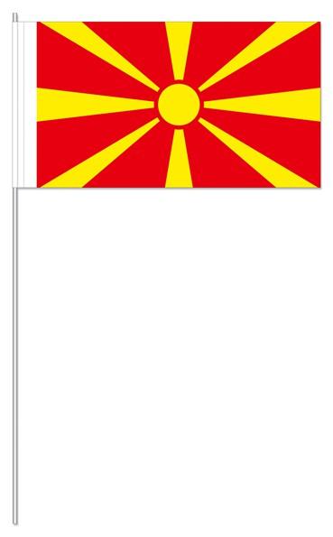 Papierfähnchen Mazedonien