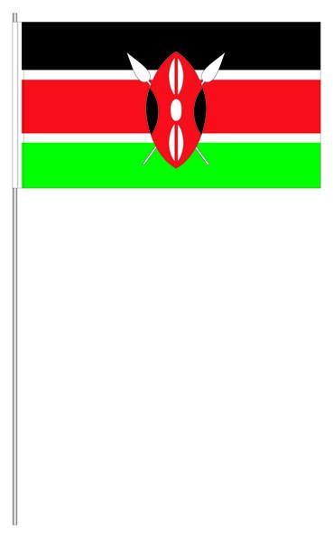 Papierfähnchen Kenia