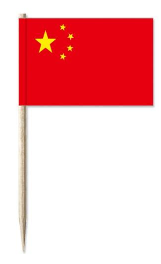 Minifahne China