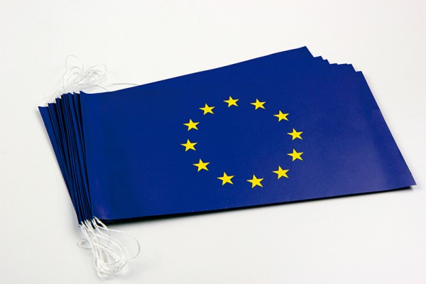 Fahnenketten Europarat