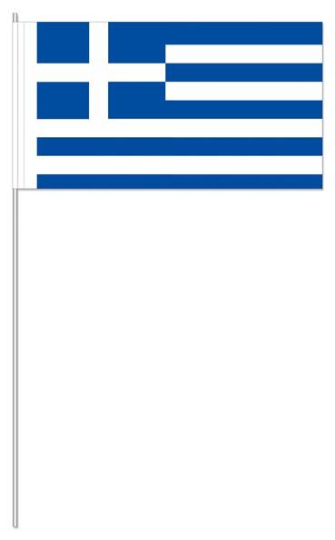 Papierfähnchen Griechenland